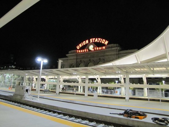 Denver Union Station Tracks Picture Of The Crawford Hotel Denver Tripadvisor