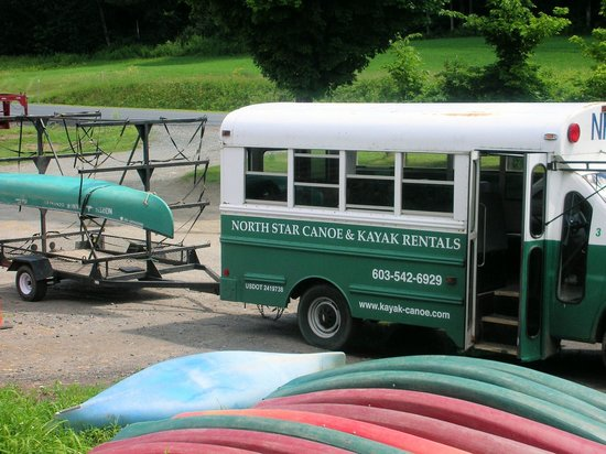 North Star Canoe & Kayak - Day Tours: Bus to take us to the launch area