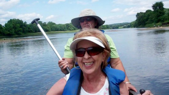 North Star Canoe & Kayak - Day Tours: Two of the three of us in one canoe