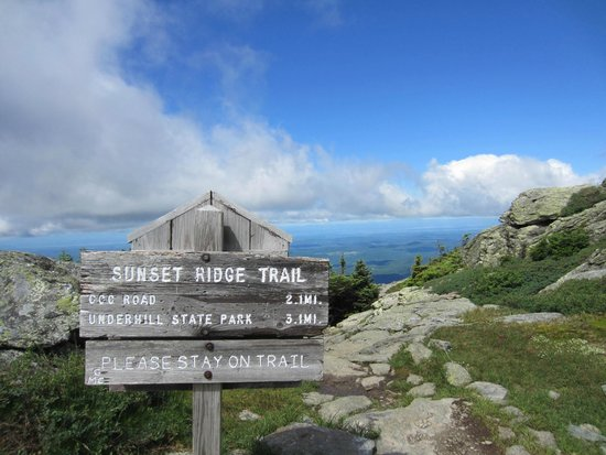Mount Mansfield : near the top