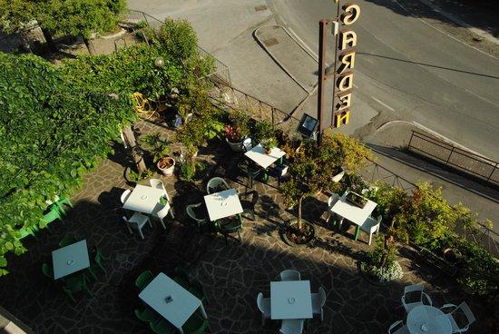 Hotel Garden: Il terrazzo