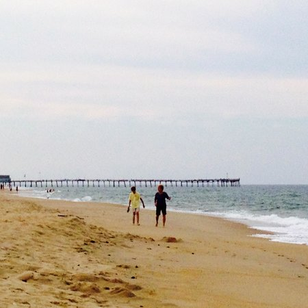 Days Inn & Suites Kill Devil Hills-Mariner : Beach at the Days Inn