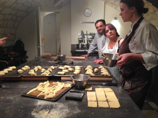 Croissant class picture of la cuisine paris cooking - La cuisine cooking classes ...