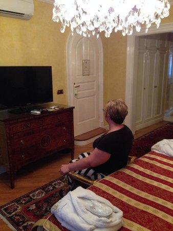 Alchymist Prague Castle Suites: Plenty of room