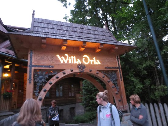 Willa Orla : From the outside