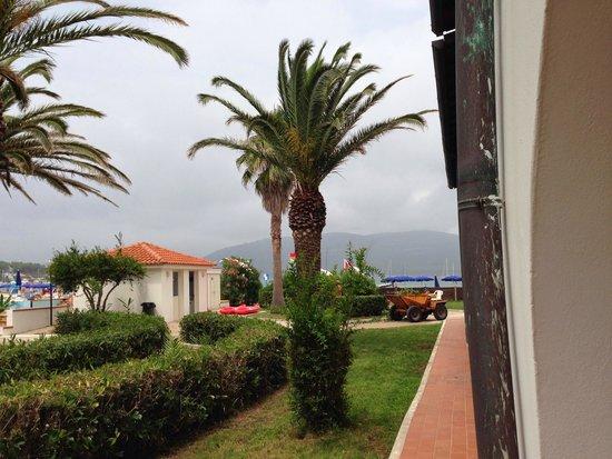 Hotel Portoconte: vista dalla camera