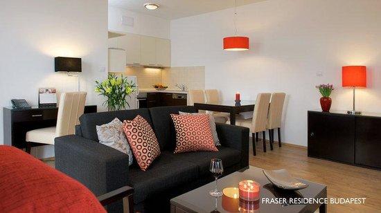 Fraser Residence Budapest: FRBudapest Living