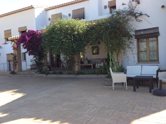 Castell de la Solana : Puerta de entrada