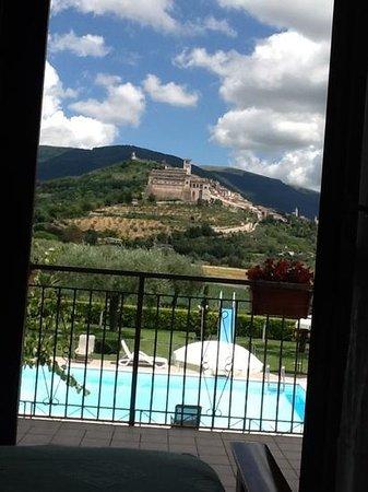 Agriturismo Il Girasole Assisi : vista dalla camera