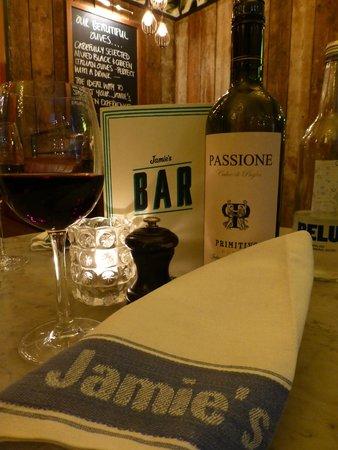 Jamie's Italian: Ein wundervolles, romantisches Ambiente