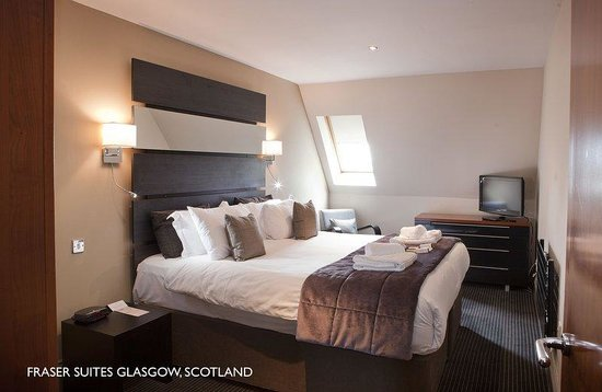 Fraser Suites Glasgow: FSGlasgow Bedroom