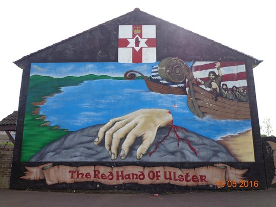 Belfast mural picture of murals of west belfast for Mural belfast