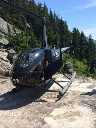 SKY Helicopters Inc.: Riding in style