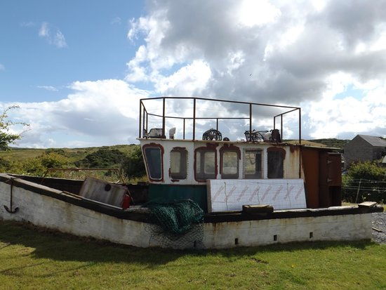 Corcreggan Mill: The boat to be transformed into glamping unit