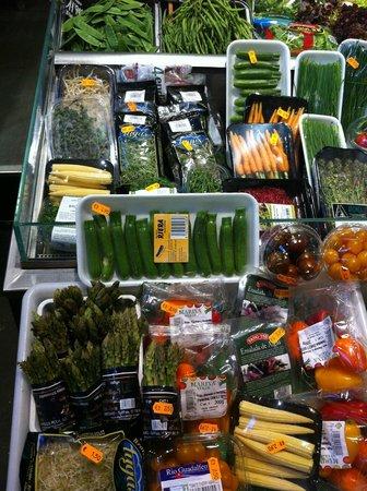 Mercat de la Boqueria: Variedade de produtos