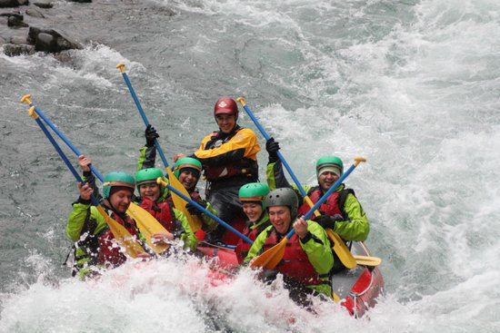 Rafting New Zealand: Air Gutair