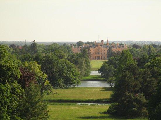 Zamek Lednice: View from the Minaret