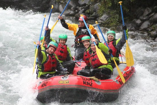 Rafting New Zealand: Team Jimmy