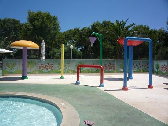 Apartamentos Cala d'Or Playa: Kids splash area