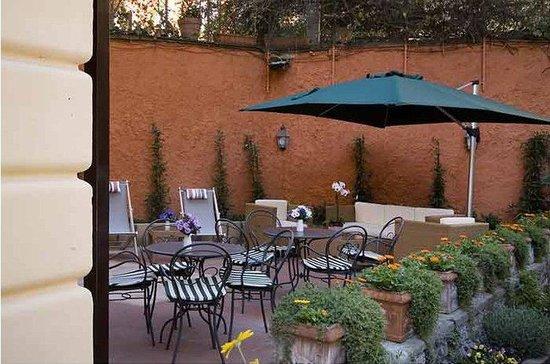 Rome Garden Hotel: Garden