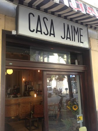 Photo of Mediterranean Restaurant Casa Jaime at Consell De Cent, 222, Barcelona 08011, Spain