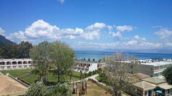 Messonghi Beach Resort : Superior sea view (вид с балкона)