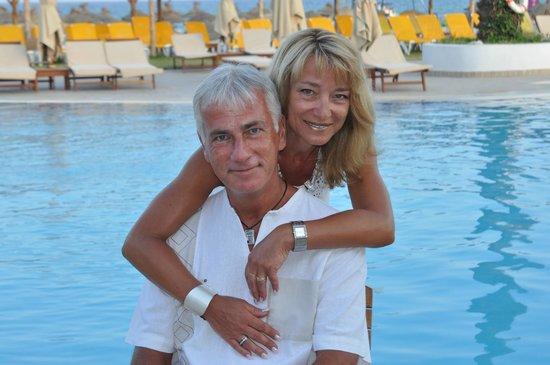 Club Eldorador Salammbo : Nous devant la piscine