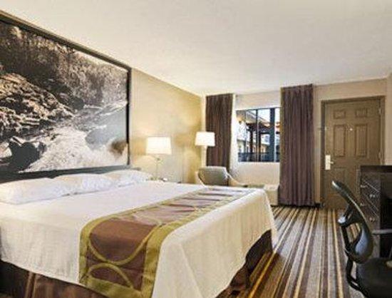 Super 8 - Monteagle TN: Standard One King Bed Room