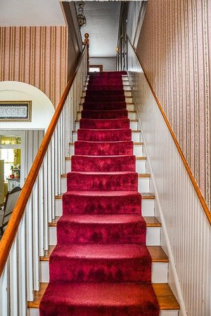 J.M. Koch's Hotel Bed and Breakfast: Staircase