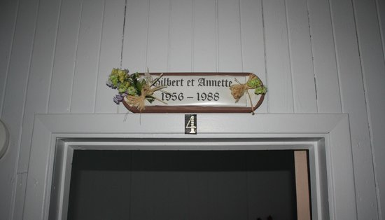 Le Love du Pionnier : Chambre n°4 Gilbert & Annette