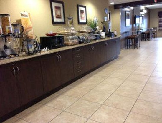 Microtel Inn & Suites by Wyndham Harrisonburg: Breakfast Area