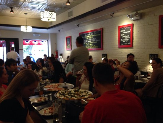 Juliana's Pizza: Quaint. Clean. Noisy, in the best way, filled with people enjoying life.