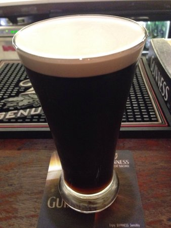 The Morrison, a DoubleTree by Hilton Hotel: Guinness!