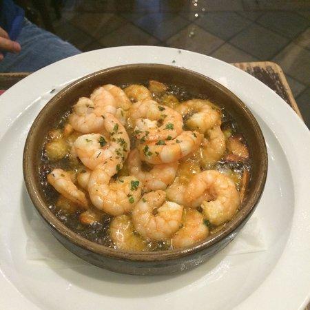Venta El Buscon : Garlic shrimp