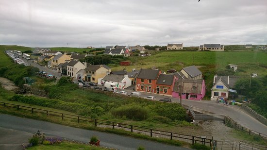 Sea View House Doolin : View from our room.