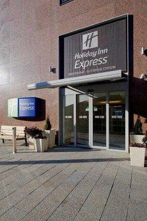 Holiday Inn Express Amsterdam-Sloterdijk Station: Entrance