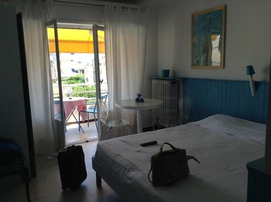 Hotel le Val Duchesse : turquoise room