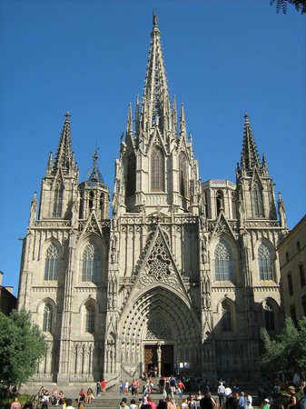 Barcelona Cathedral: Facciata