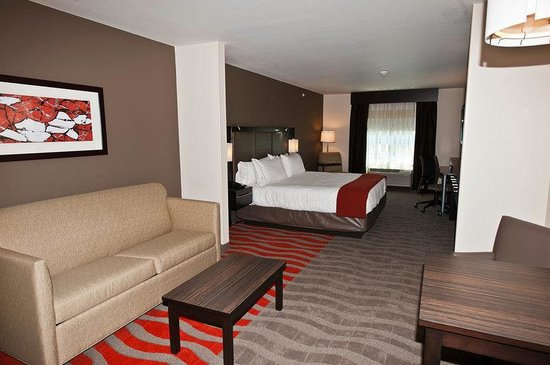 Holiday Inn Express Hotel & Suites Columbus - Easton : King Suite with living area