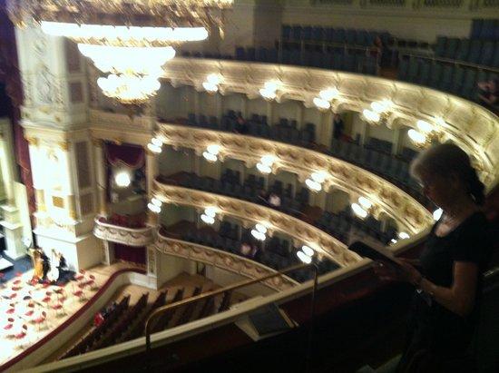Semper Opera House (Semperoper) : Balconies