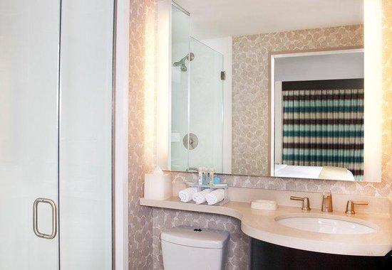 Holiday Inn Express Manhattan Times Square South: Guest Bathroom