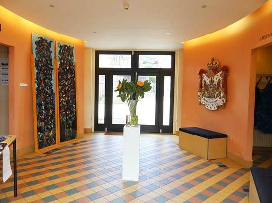 Museum de Zwarte Tulp : a small hall behind the entrance