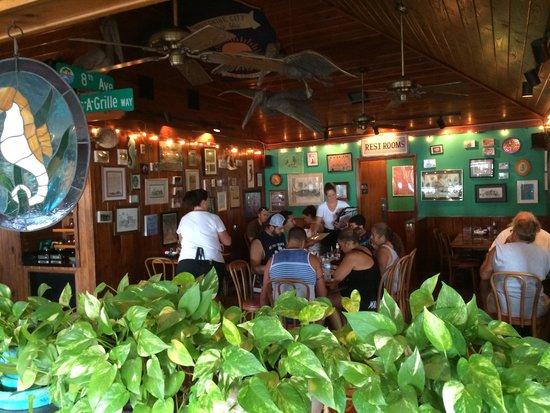 Seahorse Restaurant : Casual nice easy breezy atmosphere