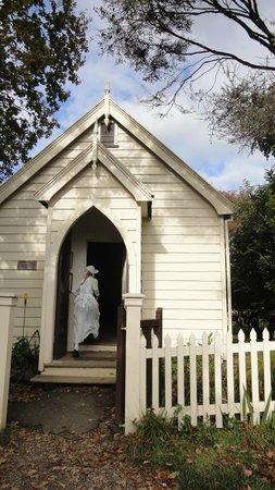 Howick Historical Village: 教会かな?ここで本当に結婚式もできます^^