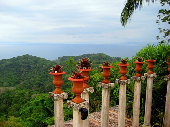Hotel Villa Caletas: view for every meal