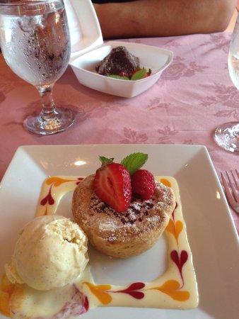 Spencer's Tall Trees Restaurant : Delicious tart!