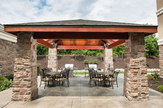Staybridge Suites Montgomeryville: Come And Enjoy Our Covered Patio And Bbq  Grills