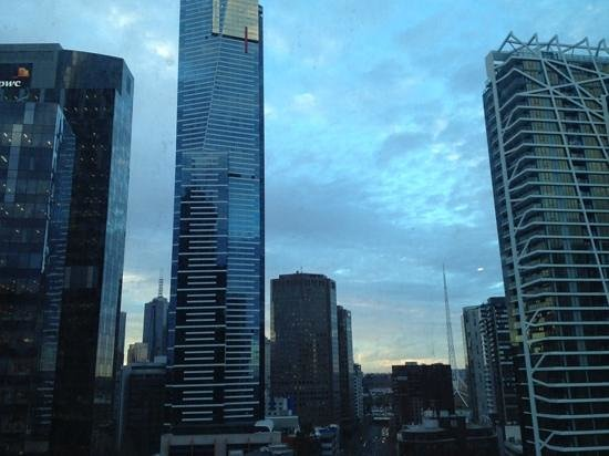Melbourne Short Stay Apartments at SouthbankOne: view from apartment 1700 southbankone