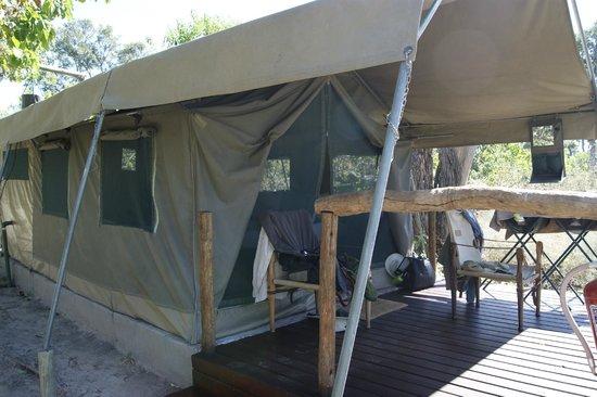 Khwai Tented Camp: Tent