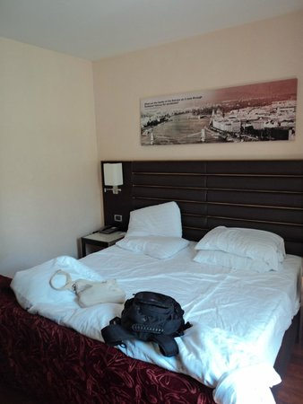 Eurostars Budapest Center Hotel: Quarto